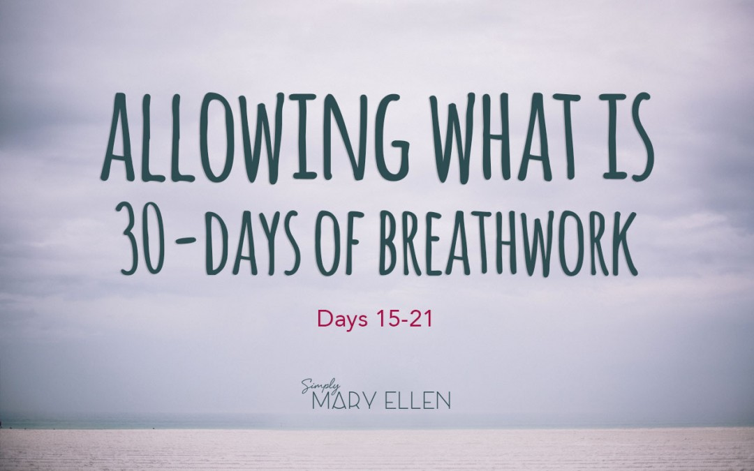Allowing What Is: 30 Days of Breathwork